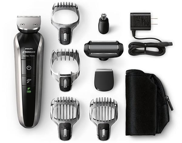 Philips Norelco multigroom 7100 box contents