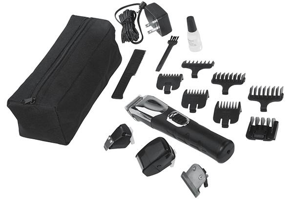 wahl trimmer all-in one grooming kit contents