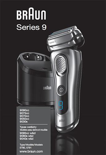 Braun 9095cc user manual